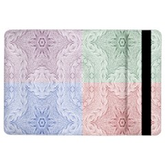 Seamless Kaleidoscope Patterns In Different Colors Based On Real Knitting Pattern Ipad Air 2 Flip
