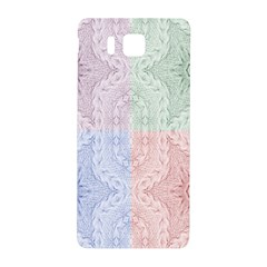 Seamless Kaleidoscope Patterns In Different Colors Based On Real Knitting Pattern Samsung Galaxy Alpha Hardshell Back Case