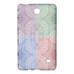 Seamless Kaleidoscope Patterns In Different Colors Based On Real Knitting Pattern Samsung Galaxy Tab 4 (7 ) Hardshell Case