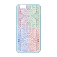 Seamless Kaleidoscope Patterns In Different Colors Based On Real Knitting Pattern Apple Seamless iPhone 6/6S Case (Color)