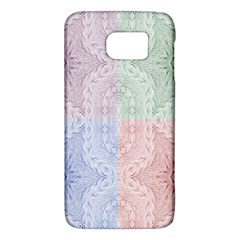 Seamless Kaleidoscope Patterns In Different Colors Based On Real Knitting Pattern Galaxy S6
