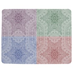 Seamless Kaleidoscope Patterns In Different Colors Based On Real Knitting Pattern Jigsaw Puzzle Photo Stand (Rectangular)