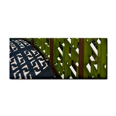 Shadow Reflections Casting From Japanese Garden Fence Cosmetic Storage Cases