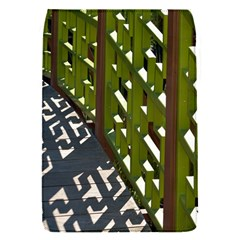 Shadow Reflections Casting From Japanese Garden Fence Flap Covers (s)