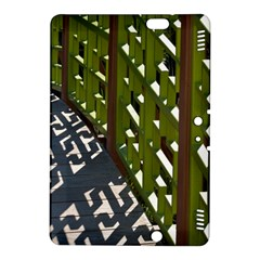 Shadow Reflections Casting From Japanese Garden Fence Kindle Fire Hdx 8 9  Hardshell Case