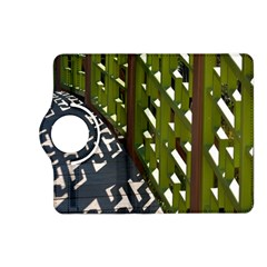 Shadow Reflections Casting From Japanese Garden Fence Kindle Fire Hd (2013) Flip 360 Case