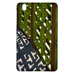Shadow Reflections Casting From Japanese Garden Fence Samsung Galaxy Tab Pro 8 4 Hardshell Case