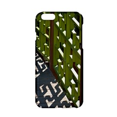 Shadow Reflections Casting From Japanese Garden Fence Apple Iphone 6/6s Hardshell Case