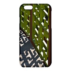 Shadow Reflections Casting From Japanese Garden Fence iPhone 6/6S TPU Case