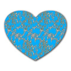 Seamless Pattern Background Seamless Heart Mousepads