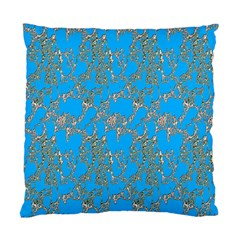 Seamless Pattern Background Seamless Standard Cushion Case (one Side)