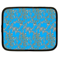 Seamless Pattern Background Seamless Netbook Case (XL)
