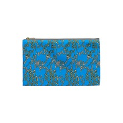 Seamless Pattern Background Seamless Cosmetic Bag (Small)