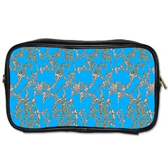 Seamless Pattern Background Seamless Toiletries Bags 2 Side