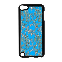 Seamless Pattern Background Seamless Apple iPod Touch 5 Case (Black)
