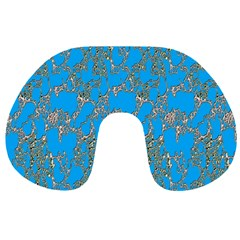 Seamless Pattern Background Seamless Travel Neck Pillows