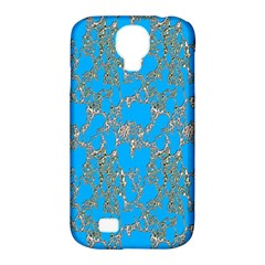 Seamless Pattern Background Seamless Samsung Galaxy S4 Classic Hardshell Case (pc+silicone)