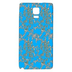 Seamless Pattern Background Seamless Galaxy Note 4 Back Case