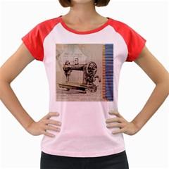 Sewing  Women s Cap Sleeve T Shirt