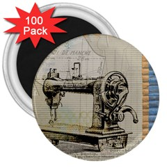 Sewing  3  Magnets (100 pack)