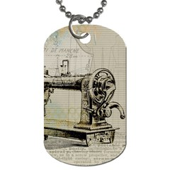 Sewing  Dog Tag (two Sides)