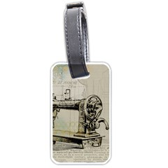 Sewing  Luggage Tags (One Side)