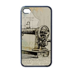 Sewing  Apple iPhone 4 Case (Black)