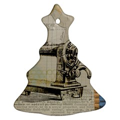 Sewing  Ornament (christmas Tree)