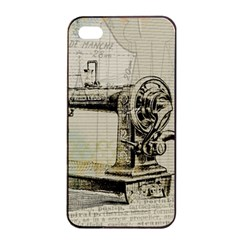 Sewing  Apple Iphone 4/4s Seamless Case (black)