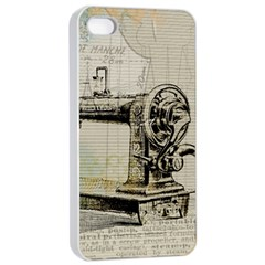 Sewing  Apple iPhone 4/4s Seamless Case (White)