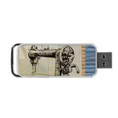 Sewing  Portable Usb Flash (one Side)