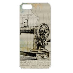 Sewing  Apple Iphone 5 Seamless Case (white)