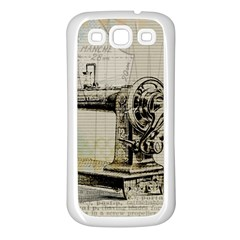 Sewing  Samsung Galaxy S3 Back Case (white)