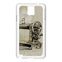 Sewing  Samsung Galaxy Note 3 N9005 Case (white)