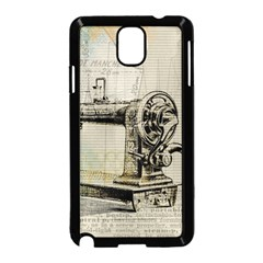 Sewing  Samsung Galaxy Note 3 Neo Hardshell Case (Black)