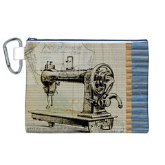 Sewing  Canvas Cosmetic Bag (XL)
