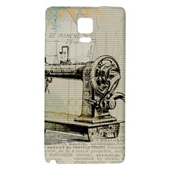 Sewing  Galaxy Note 4 Back Case