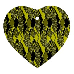 Seamless Pattern Background Seamless Ornament (heart)
