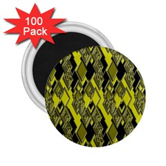 Seamless Pattern Background Seamless 2 25  Magnets (100 Pack)