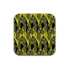 Seamless Pattern Background Seamless Rubber Coaster (Square)