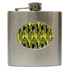 Seamless Pattern Background Seamless Hip Flask (6 oz)
