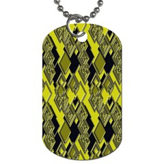 Seamless Pattern Background Seamless Dog Tag (two Sides)