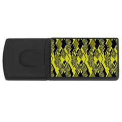 Seamless Pattern Background Seamless Usb Flash Drive Rectangular (4 Gb)