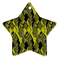 Seamless Pattern Background Seamless Star Ornament (Two Sides)