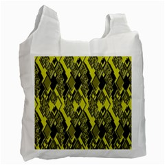 Seamless Pattern Background Seamless Recycle Bag (Two Side)