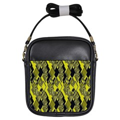 Seamless Pattern Background Seamless Girls Sling Bags