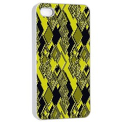 Seamless Pattern Background Seamless Apple iPhone 4/4s Seamless Case (White)