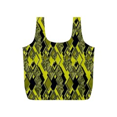 Seamless Pattern Background Seamless Full Print Recycle Bags (s)