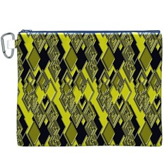 Seamless Pattern Background Seamless Canvas Cosmetic Bag (XXXL)
