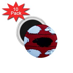 Sheep 1.75  Magnets (10 pack)